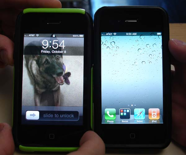 iPhone 3GS and 4 before Microcell