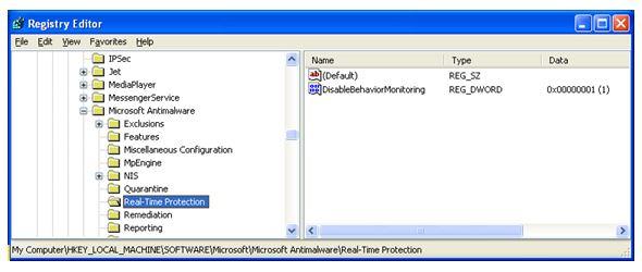 Microsoft Security Essentials Broken on XP
