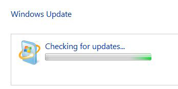 windows 7 update checking for updates stuck
